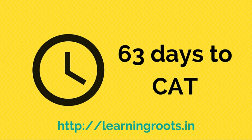 63 days to CAT | Clocks