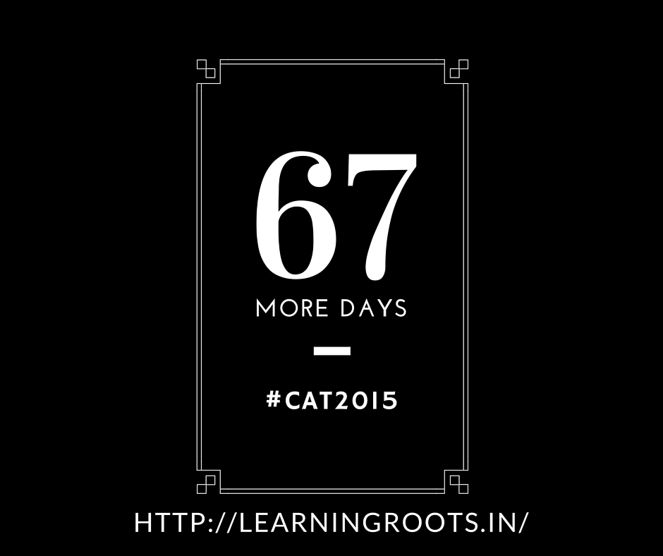 67 days to CAT 2015 | Indices and surds