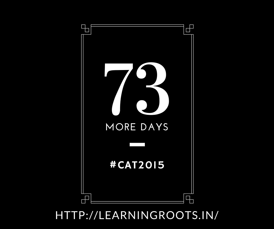 73 days to CAT 2015 | Identifying the tone of the passage