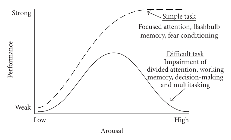 The Yerkes–Dodson law