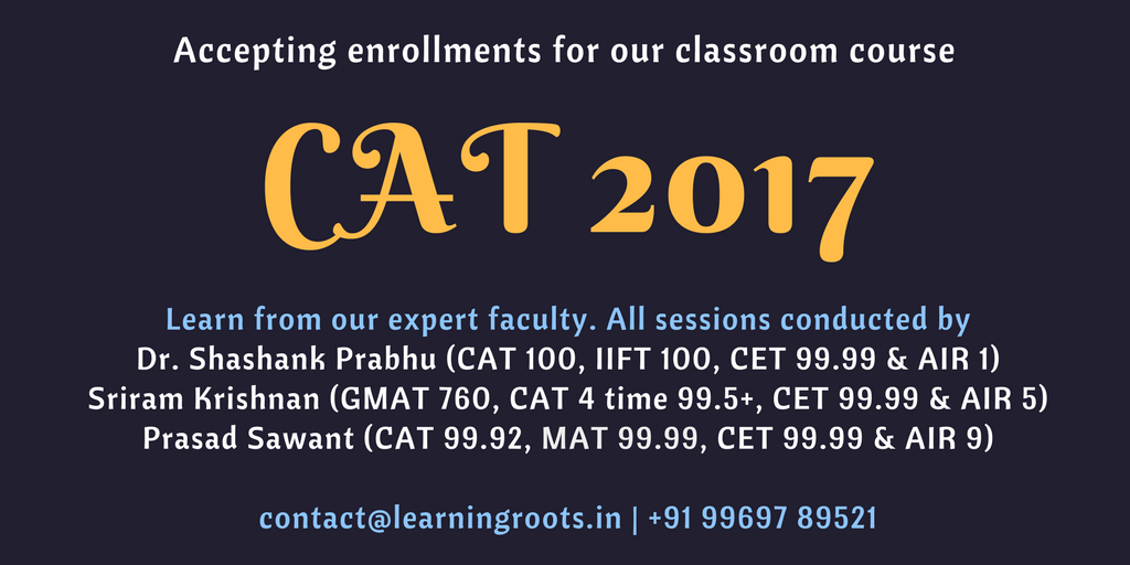 Learningroots CAT 2017